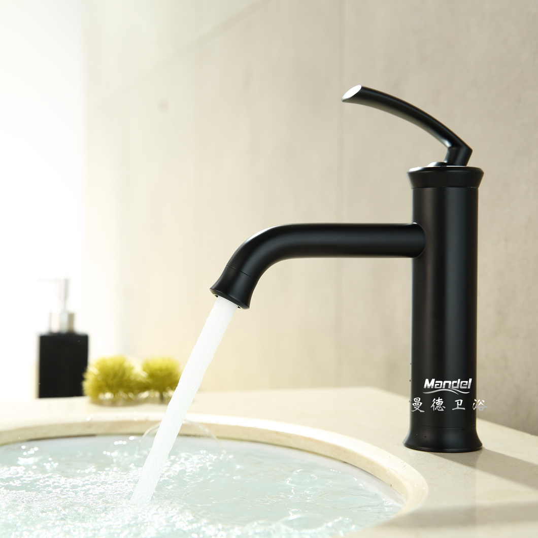 Modern Faucets For Bathroom Sinks China 5 Stars Hotel Standard Black Brass Luxury Matt Modern