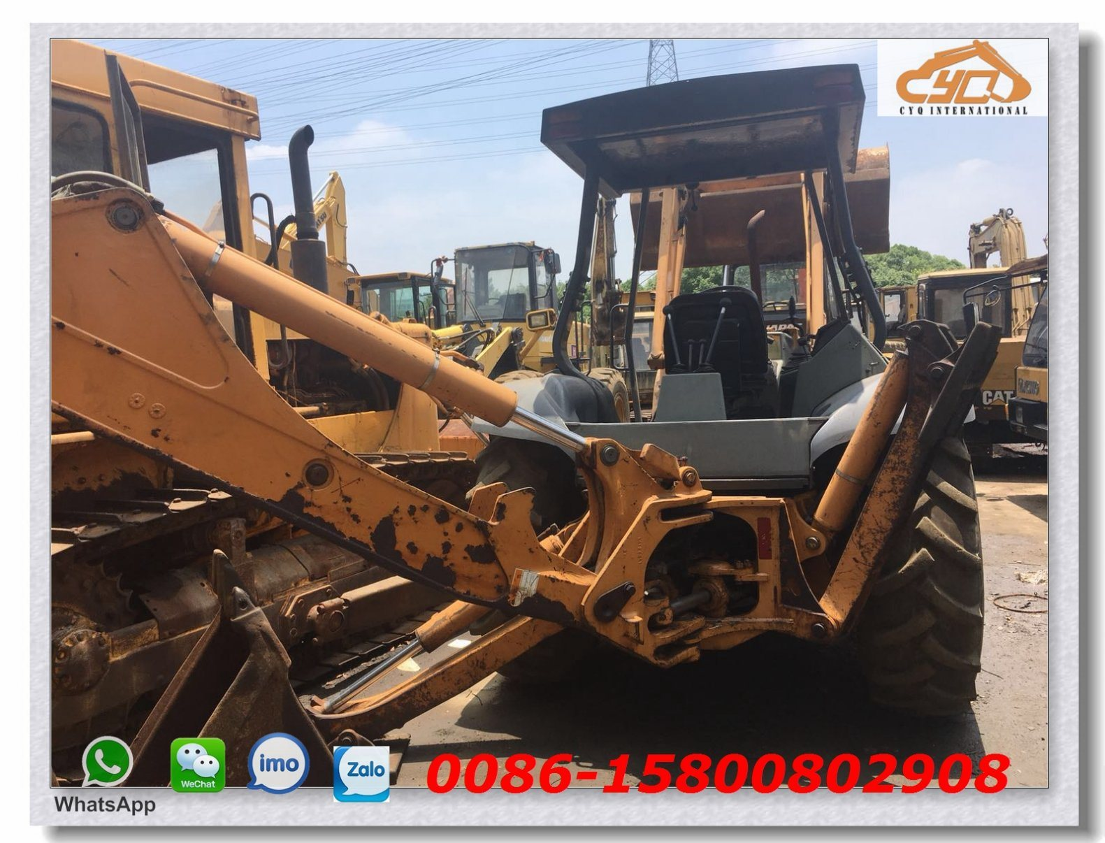 hight resolution of used cas 580l backhoe loader used skid steer loader case 580m 580l