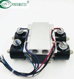 4 corner valve unit air ride suspension valve [ 2151 x 2151 Pixel ]