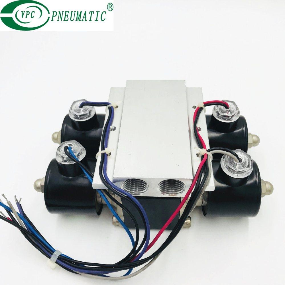 medium resolution of 4 corner valve unit air ride suspension valve