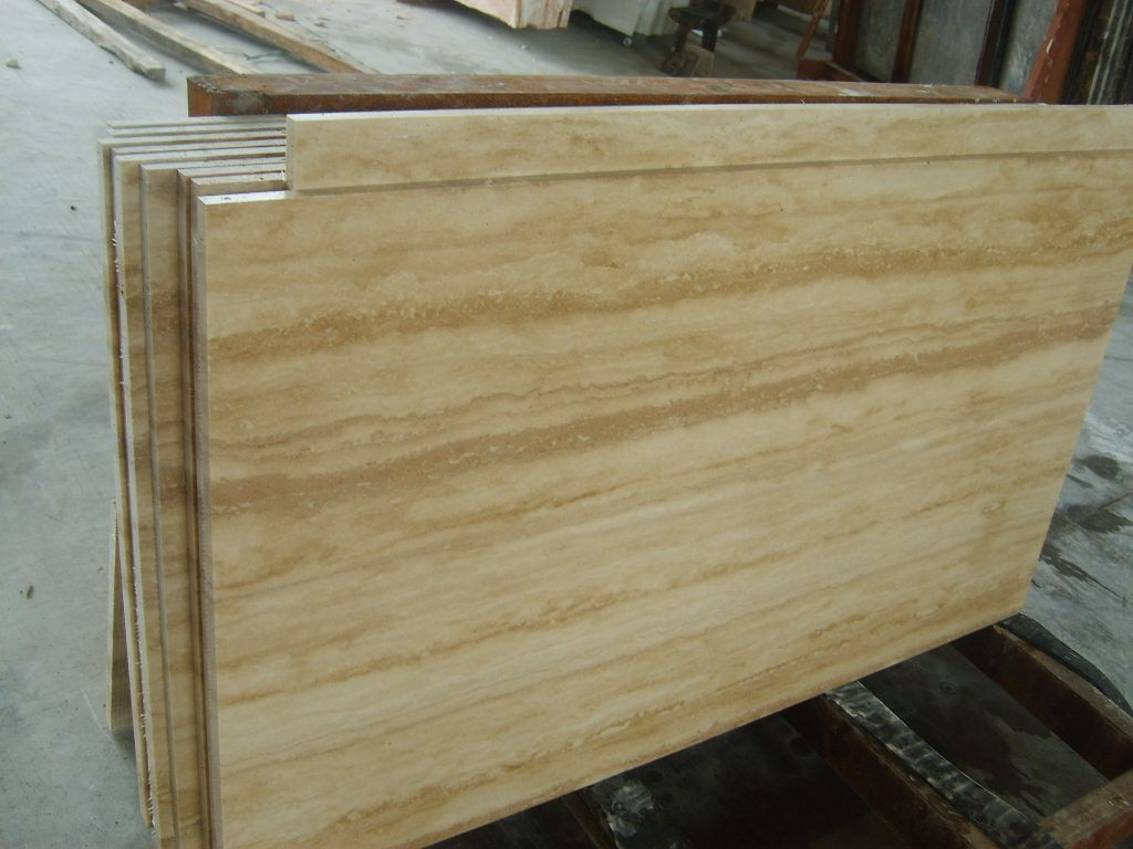 further consideration of tactics of travertine tiles