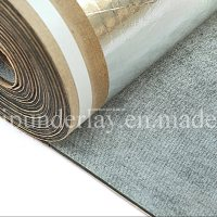 China Acoustic PU Foam Carpet Underlay with Non-Woven ...