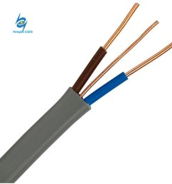1 5sq mm copper black pvc house wiring electric twist flat wire cable [ 954 x 955 Pixel ]