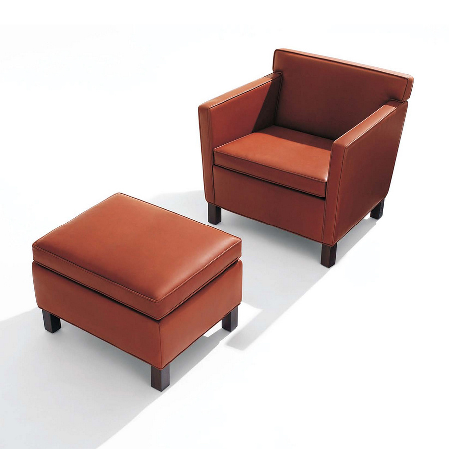 Modern Leather Chairs Hot Item High Quality Modern Leather Office Sofa Design Single Sofa Chair For Sale