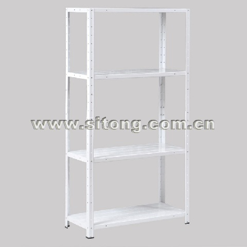 China Free Standing Plastic Sprayed Four-Shelves Metal