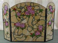 Tiffany Fireplace Screen (FST000001) - China Tiffany ...