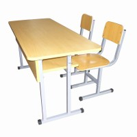 China Double School Desk and Chair Set (MXZY-264) - China ...