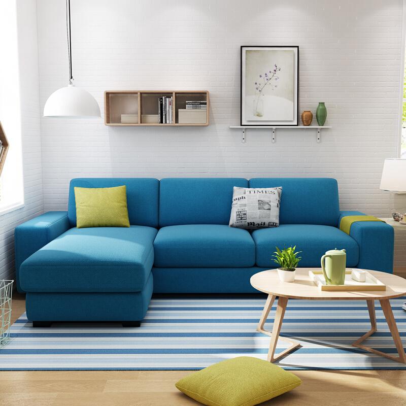 china living room modern leisure small