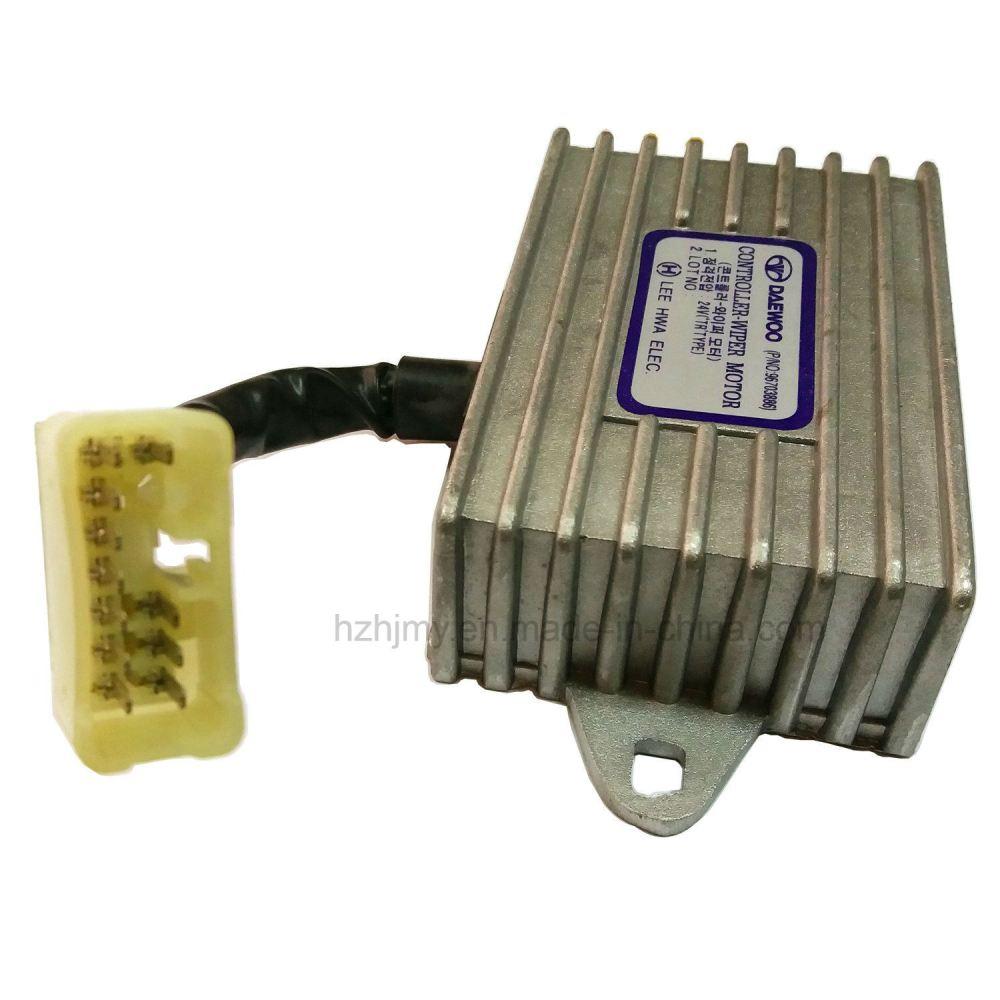 medium resolution of 96703886 wiper motor controller 24v tr type for daewoo bus