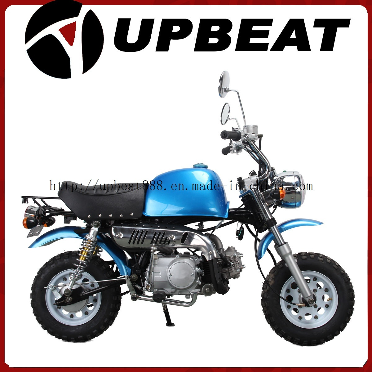 hight resolution of china upbeat motorcycle 110cc monkey bike 110cc gorilla bike blue china monkey bike gorilla bike