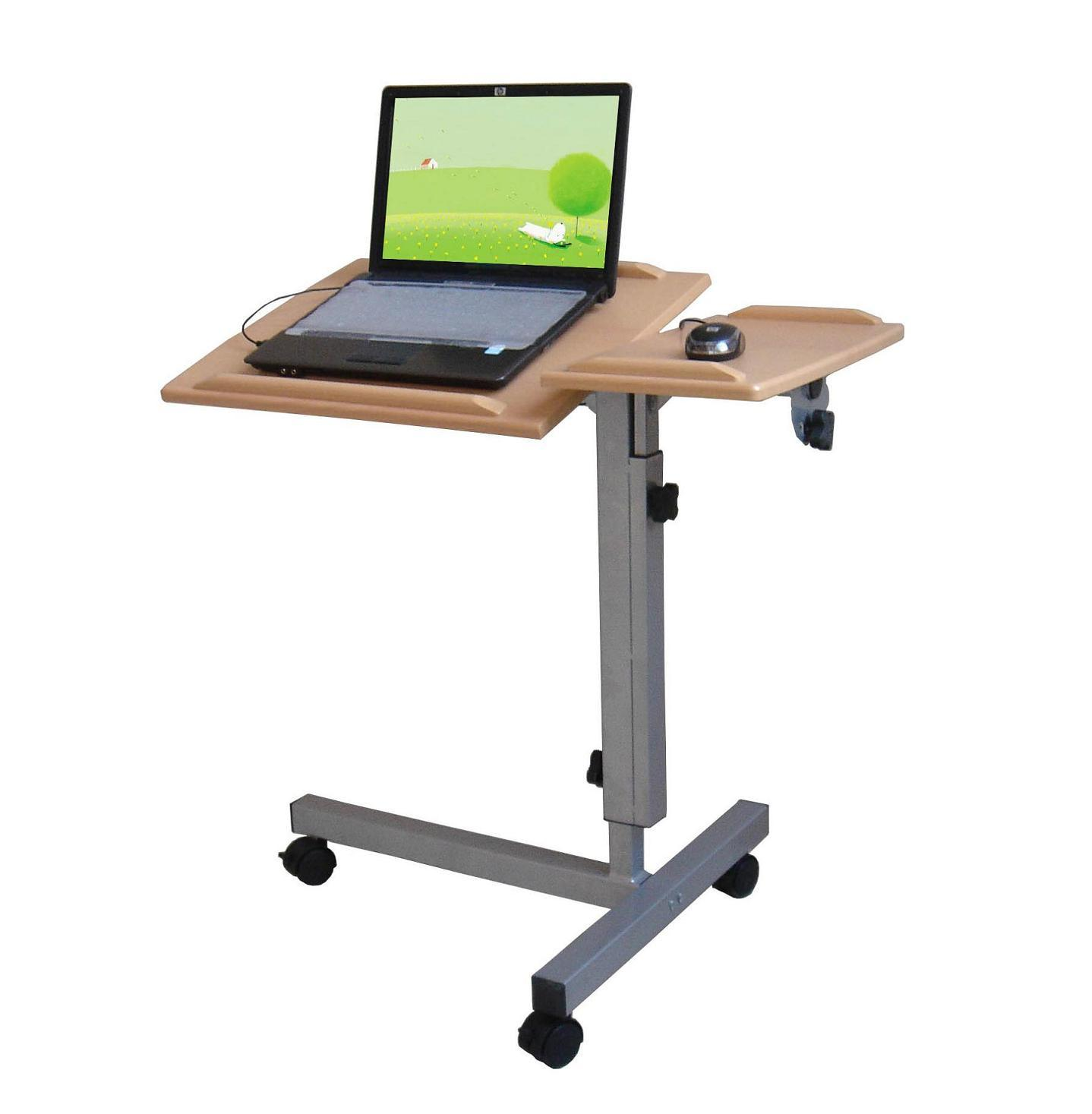 chair computer stand stool with back laptop table