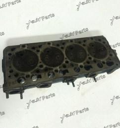 kubota engine v1505 complete cylinder head assembly [ 1000 x 1000 Pixel ]