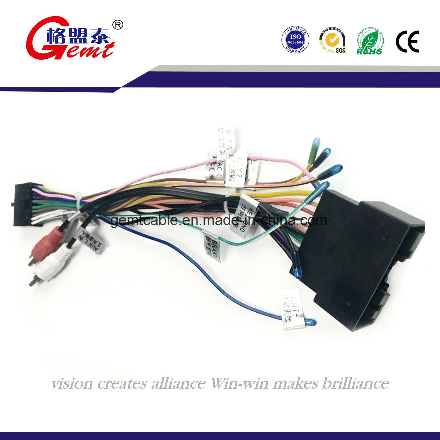 hight resolution of  hot item f505 power cord auto cable wire harness car audio wire harness automotive wire harness computer wiring harness automotive audio wiring harness