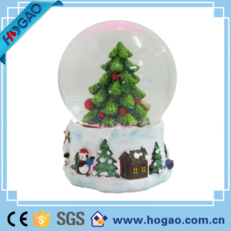 Personalised Snow Globe Tree Decoration