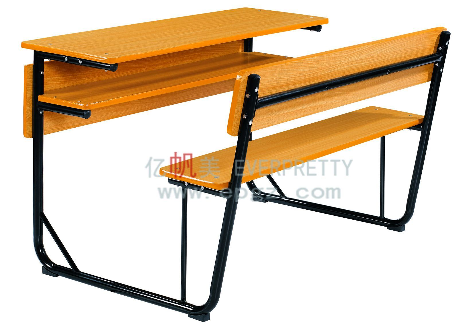 School Desk And Chair China Mdf Double School Desk Chair Student Desk Bench For