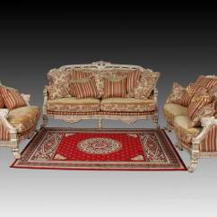 Sofa Design With Wooden Handle Red China Classic Set 812 Carve