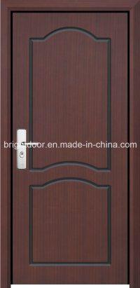 China Single Solid Wooden Veneer Carving Main Door Design ...