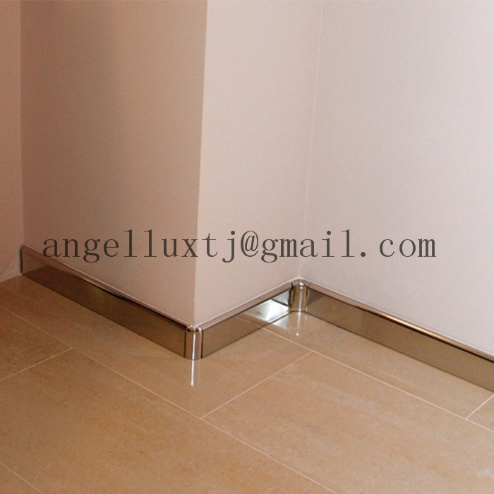 china indoor decoration metal skirting