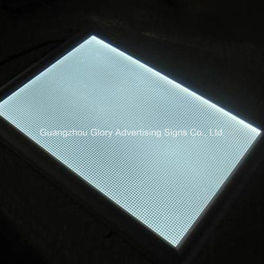 medium resolution of china plastic pmma acrylic light guide plate lgp for led panel signs china acrylic sheet led panel