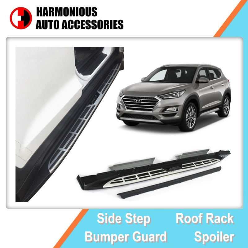 hot item car parts side step oe vogue running boards for hyundai tucson 2016 2019 stirrup