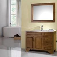 China Solid Wood Bathroom Cabinets - China Bathroom ...