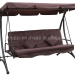 China 3 Seater Deluxe Outdoor Garden Furniture Swing Chair