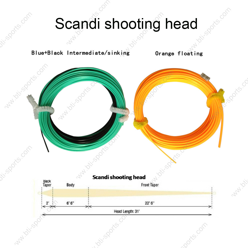 hight resolution of china best quality and hot sale scandi shooting head fly fishing line china fly fishing line fly line