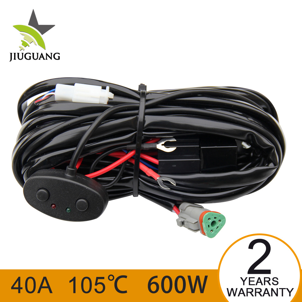 medium resolution of china led headlight work light bar wiring harness connector for auto jeep offroad china wiring harness led light bar wiring harness