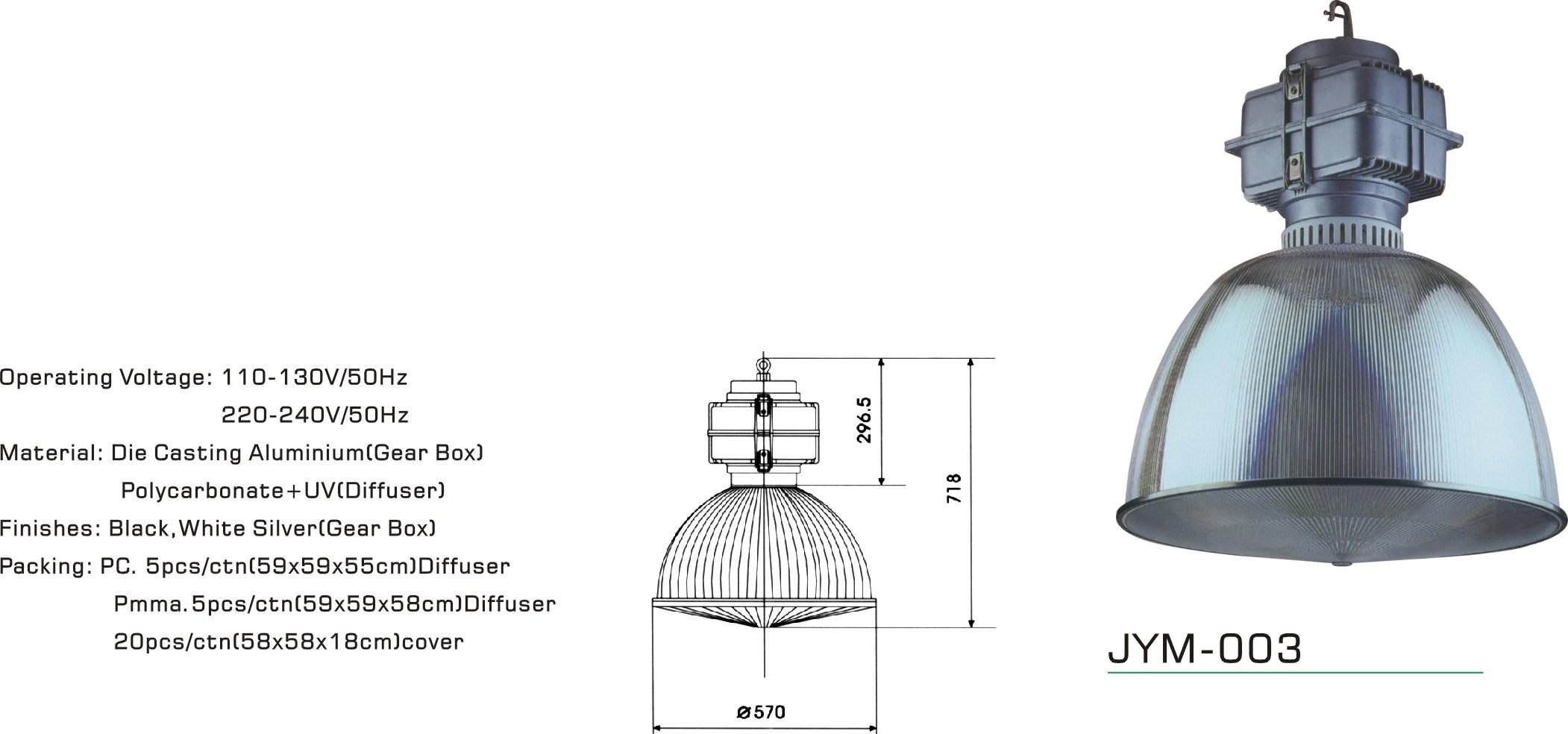 200 Watt Metal Halide Fixture