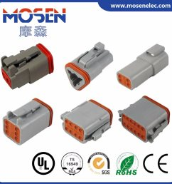 china deutsch auto wire connector electrical connector dt06 2s dt06 3s dt06 4s dt06 6s dt06 8s dt06 12s cwhao7a wiring harness for car with approvals  [ 1350 x 1350 Pixel ]