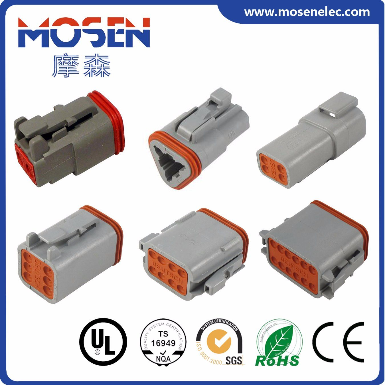 hight resolution of china deutsch auto wire connector electrical connector dt06 2s dt06 3s dt06 4s dt06 6s dt06 8s dt06 12s cwhao7a wiring harness for car with approvals