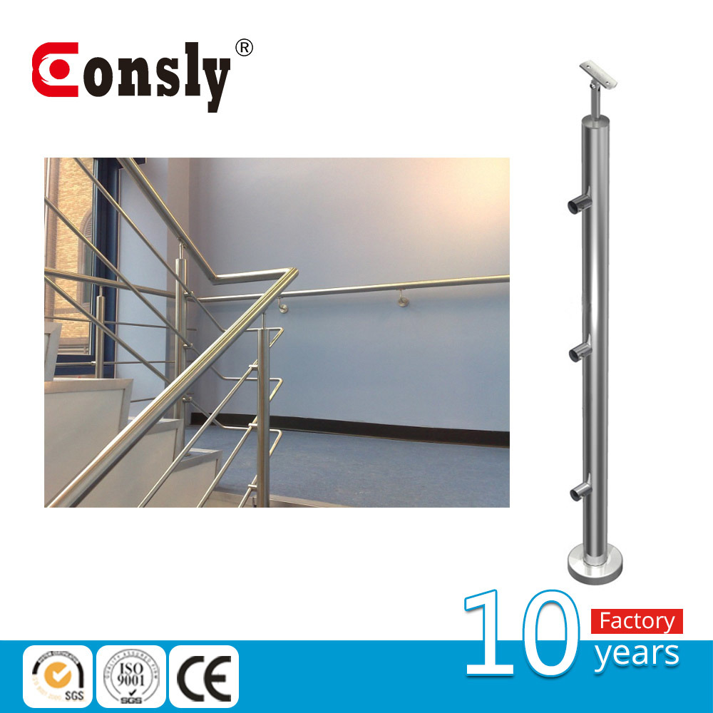 hight resolution of china indoor staircase wire rod railing baluster post for handrail system china baluster post wire rode railing