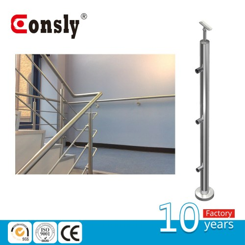 small resolution of china indoor staircase wire rod railing baluster post for handrail system china baluster post wire rode railing