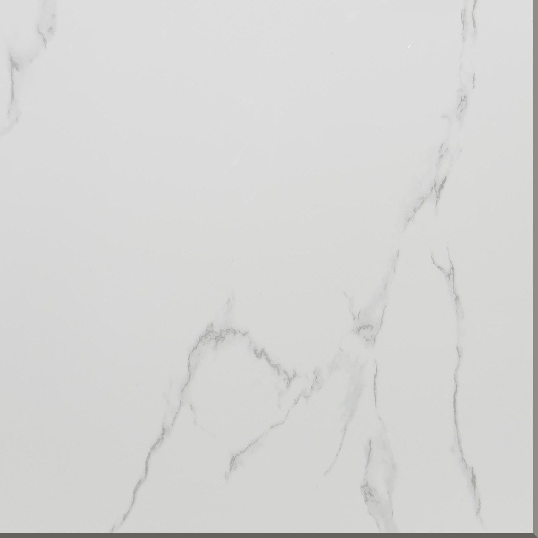 China White Color Marble Design Glazed Porcelain Tile