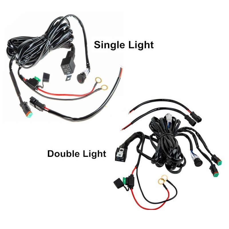 China Auto Electric Car LED Headlight Fog Light Wire