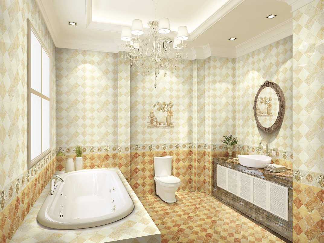 Tile For Bathroom Hot Item 300x600 Foshan High Quality Building Material Ceramic Tile For Bathroom Wall