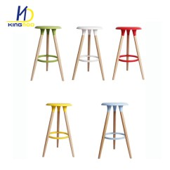 High Chair Wooden Legs Chaise Lounge Leather China Abs Plastic Seat Bar Stool Photos