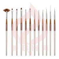 China New Design Nail Brush Set - China nail art, brush kit