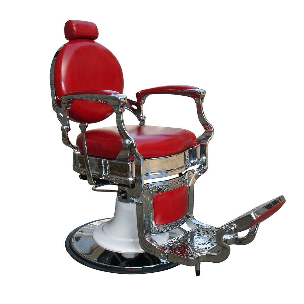 Red Barber Chair Hot Item Luxury Red Barber Chair Imperial Style Chair Salon Furniture