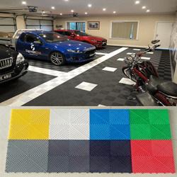 China 40 40 1 8cm Vinyl Floor Tiles Garage Floor Tiles China Garage Flooring Pvc Garage Floor