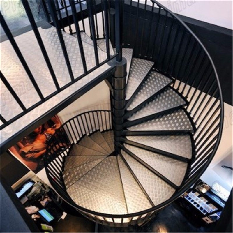 China Outdoor Modern Design Cast Iron Spiral Staircase With Stair | Cast Iron Spiral Staircase Cost | Balcony | Stair Parts | Stainless Steel | Low Cost | Shenzhen