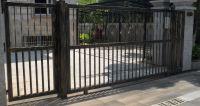 China House Iron Gate Design / Steel Sliding Gate ...