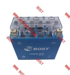 china bost power supply motorcycle dry rechargeable battery 12n9 bs for motorcycle battery china motorcycle battery lead acid battery [ 1080 x 1080 Pixel ]