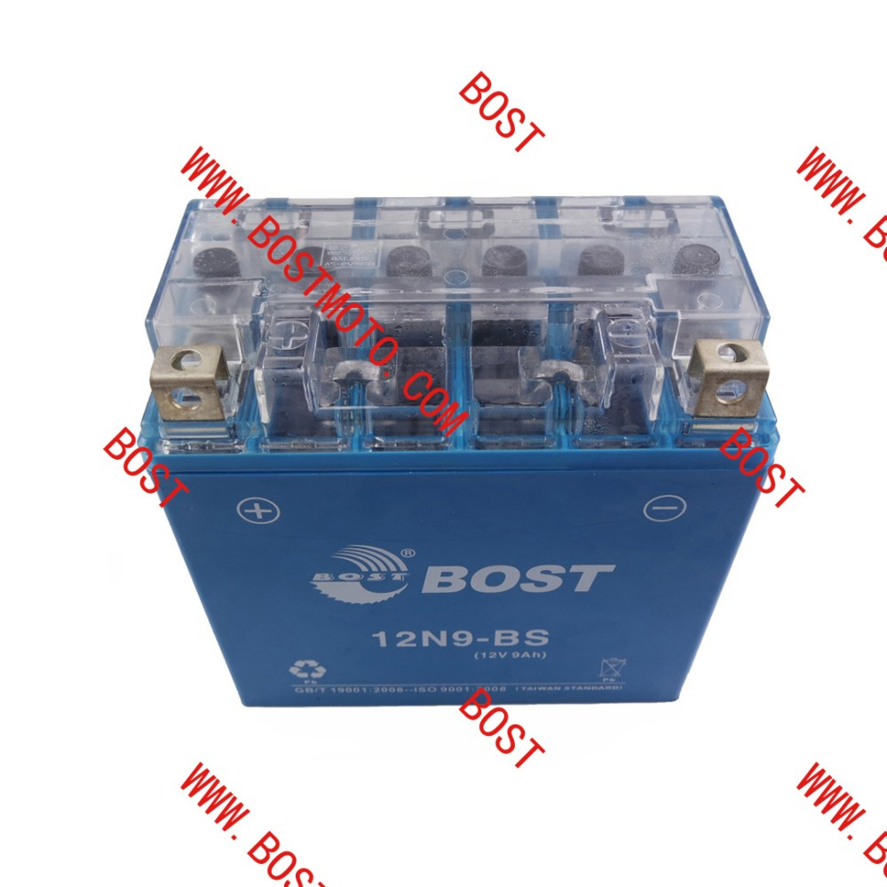 medium resolution of china bost power supply motorcycle dry rechargeable battery 12n9 bs for motorcycle battery china motorcycle battery lead acid battery