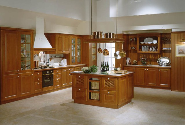 China Kitchen Cabinet- Kitchen Furniture (Maple) - China Bathroom ...
