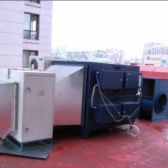 Kitchen Ventilation System Curtain For China Cooking Fume Purifier Electrostatic Precipitator