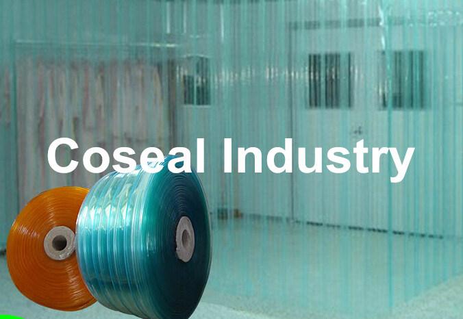 hot item industrial pvc plastic door curtain wall
