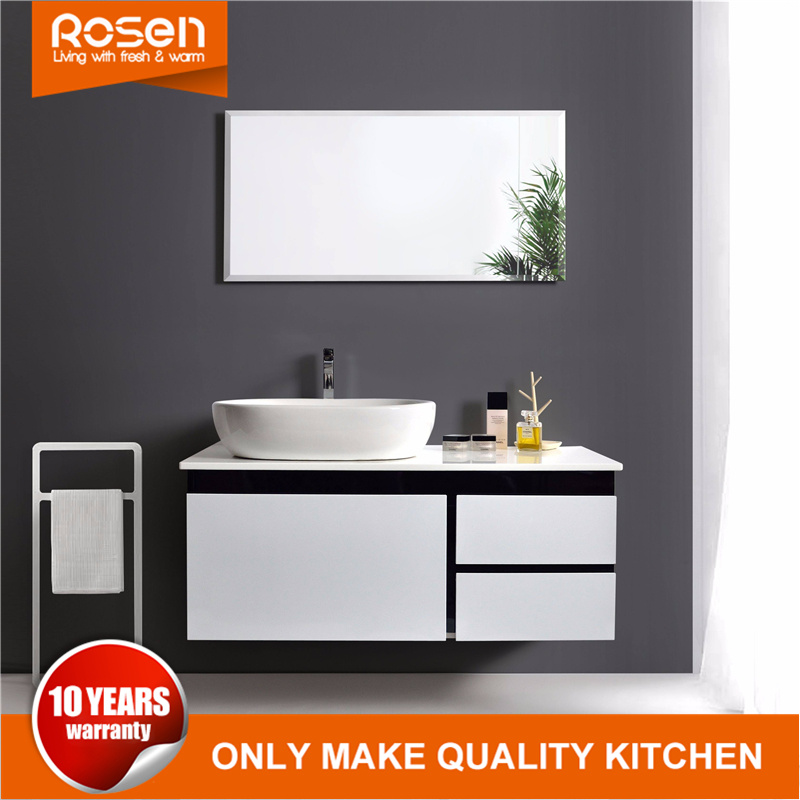Chinese New Modern Bathroom Vanity Single Sink Bathroom Vanity China Wholesale Kitchen Cabinets High Gloss Kitchen Cabinet