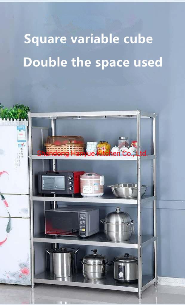 hot item commercial stainless steel multilayer shelf kitchen sink rack stainless steel shelf