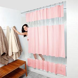 china pvc shower curtain sc5001